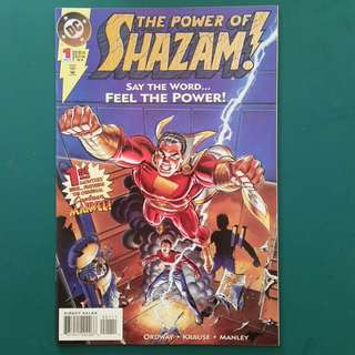 The Power of Shazam No.1 comic