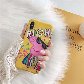 King Peppa Iphone 6 6S 6+ 6S+ 7 7+ 8 8+ X Case