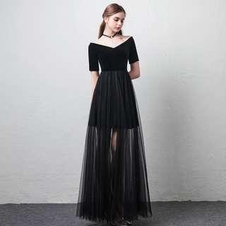 BLACK GODDESS DRESS