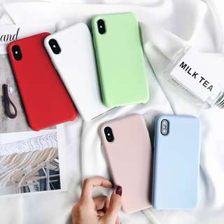 Korean Pastel Silicone Case