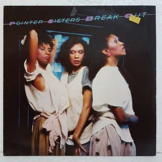On Hold: Pointer Sisters - Break Out Vinyl Record