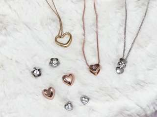 Pierre Cardin Earrings and Necklaces