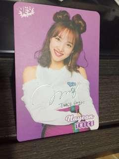 #18 娜璉 Yes Card