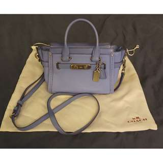Coach Light Blue Swagger 21