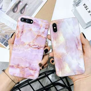 Pink Marble iPhone Case for 6 / 7 / 8 / X