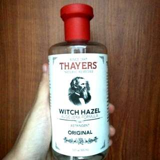 Thayers Toner original + freegifts
