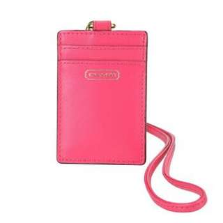 Coach staff ID octopus leather card holder