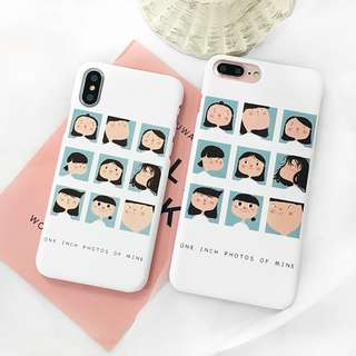 Korean Selfie Thumbnail iPhone Case for 6 / 7 / 8 / X