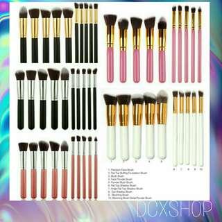 10pcs. of Kabuki Brushes