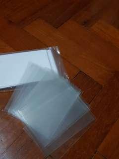 BN Plastic Sleeves cardholder