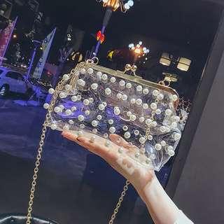 (PO) pearl clutch..