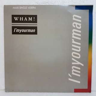 WHAM! - I'm Your Man vinyl record