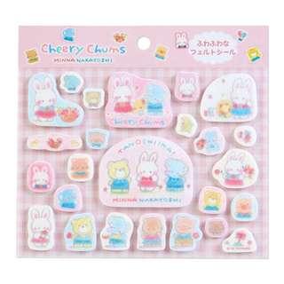Sanrio Cheery Chum Stickers