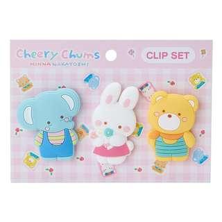 Sanrio Cheery Chum Clips