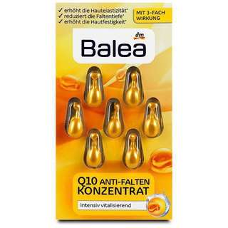 Balea Q10 Anti-Winkle Concentrate Set of 7 Capsule