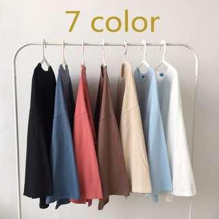K-style oversized long sleeve tshirt // PO
