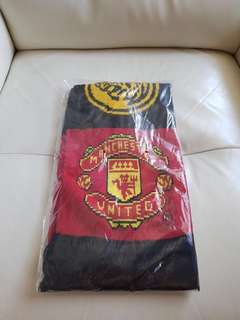 Maybank Machester United Scarf Tower (Brand New Unopened)