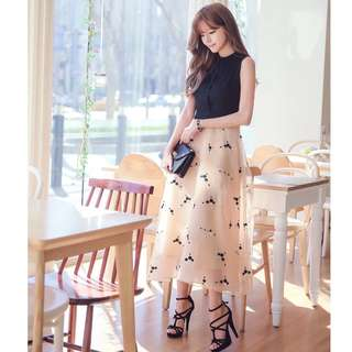Korean Style Midi Dress