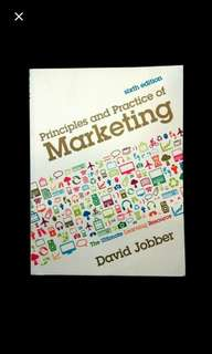 Principles and Practice of Marketing Book David Jobber Textbook