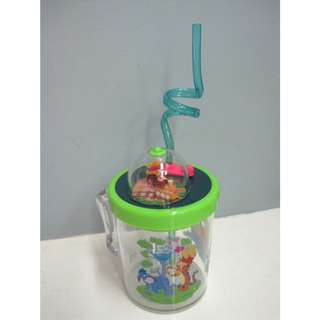 Winnie the Pooh Cup with Straw