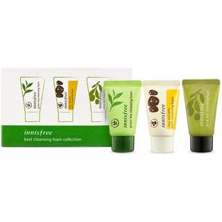 Innisfree Cleansing Foam Collection