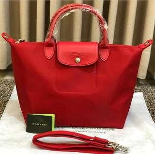 Longchamp red
