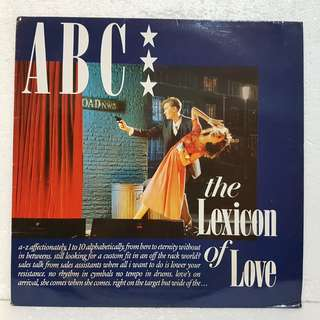 ABC - The Lexicon Of Love Vinyl Record