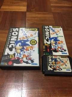Sonic 2 Sega MegaDrive