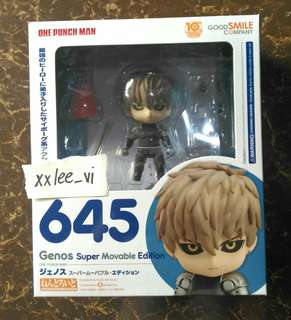 GSC 645 ONE PUNCH MAN GENOS SUPER MOVABLE EDITION NENDOROID
