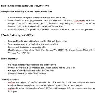 A LEVEL INTERNATIONAL HISTORY NOTES (soft copy)