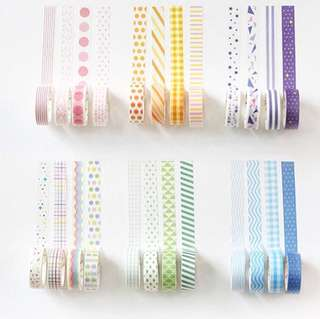 [PO CLOSED ATM]washi tapes!!
