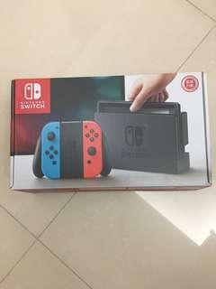(全新香港行貨) Nintendo Switch
