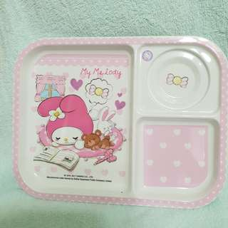 🆕️ My Melody Sanrio Feeding/ Dining/ Snack Baby/ Toddler/ Kids Divider Plate