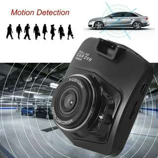 "2.4"" HD LCD Car Vehicle Blackbox DVR Cam Camera Video Recorder Black"