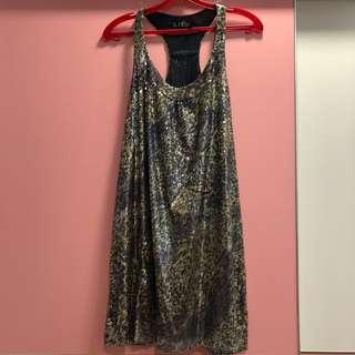 Zara Sleeveless Sequins Dress