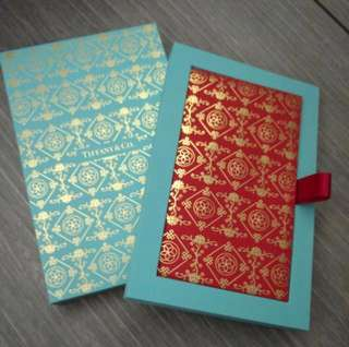 Red Packet Tiffany & co with Box(8pcs)