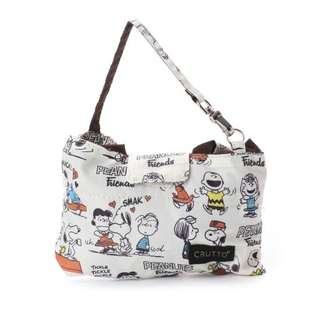 Rootote Snoopy Foldable Shopping Bag