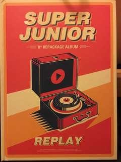換 碟小卡 super junior replay 8th album 普通專