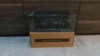 1/18 Ignition Model Nissan Pandem R35 GT-R (Black)