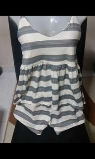Stripes grey Sleepwear