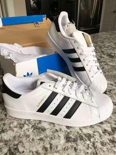 Adidas originals superstar black and white
