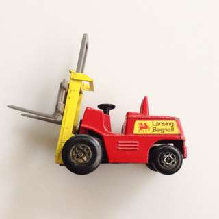 Vintage Matchbox Superfast - Fork Lift - Truck No. 15 - Made in England @ 1972