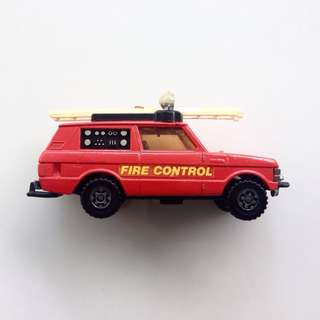 Vintage Matchbox SuperKings - Ranger Rover Fire Control - No. K-64 - Made in England @ 1977