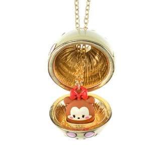 Japan Disneyland Ufufy Minnie Mouse Easter Egg Necklace