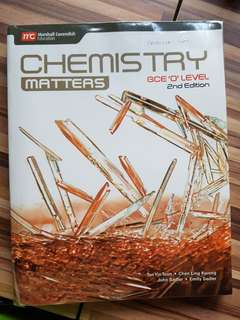 Chemistry Matters GCE O LEVEL 2nd edition