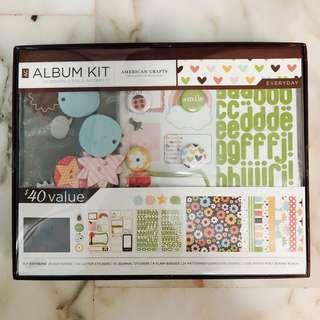 Scrapbook Album Kit