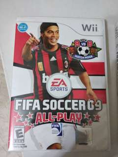 Wii Games fifa 09