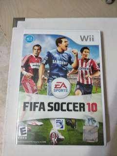 Wii game fifa 10