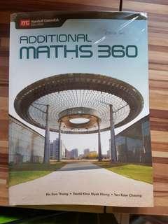 Additional Maths 360 Marshall Cavendish Education