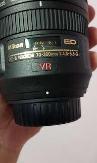 Nikon AFS 70-300 G lens